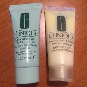 CLINIQUE Liquid Facial Soap/Moisturizing Gel